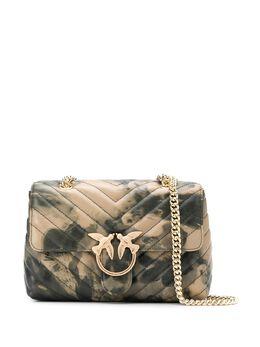 Pinko сумка на плечо с абстрактным принтом 1P21PHY679SC2