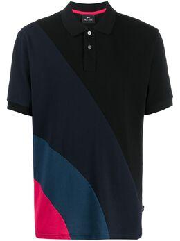 Ps by Paul Smith рубашка-поло в стиле колор-блок M2R954TD20068