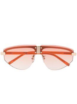 Linda Farrow солнцезащитные очки-авиаторы Hyacinth MW253C1SUN