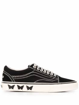 Vans contrast stitched low-top sneakers VN0A4U3BX