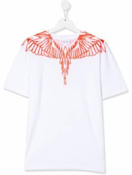 Marcelo Burlon Kids Of Milan TEEN wings-print T-shirt 11100010