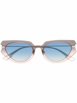 Dior Eyewear солнцезащитные очки Attitude 2 в оправе 'кошачий глаз' DIORATTITUDE2