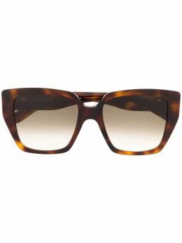 Salvatore Ferragamo солнцезащитные очки SF968S в квадратной оправе SF968S