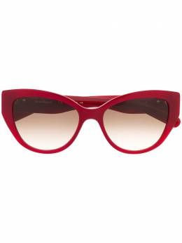 Salvatore Ferragamo солнцезащитные очки SF969S в оправе 'кошачий глаз' SF969S