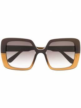 Marni Eyewear солнцезащитные очки в массивной оправе ME643S