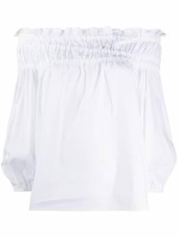Simonetta Ravizza расклешенная блузка с открытыми плечами CRETAG