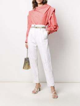 Isabel Marant структурированная блузка Welly в полоску HT165820P018I