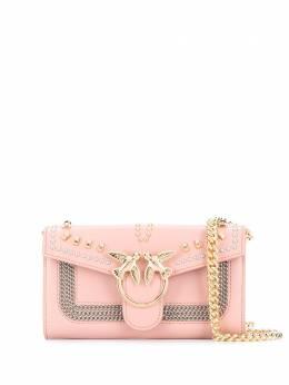 Pinko сумка через плечо с заклепками 1P21QAY68K