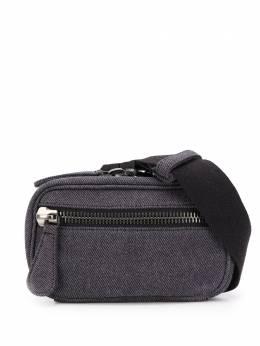Maison Margiela поясная сумка с декоративной строчкой S55WB0019PR012