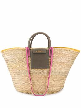 Jacquemus сумка-тоут Le Panier Soleil 201BA08201