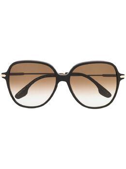 Victoria Beckham солнцезащитные очки в круглой оправе VB613S001