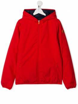 Save The Duck Kids двусторонняя куртка с капюшоном J3360BMATYX