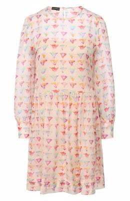Шелковое платье Emporio Armani 5NA28T/52501