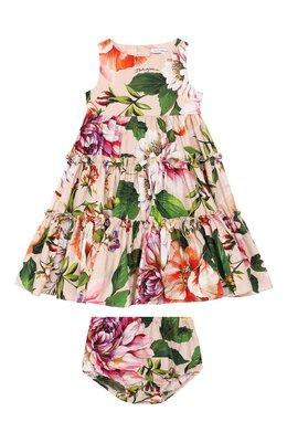 Комплект из платья и шорт Dolce&Gabbana L22DF0/HS5F8