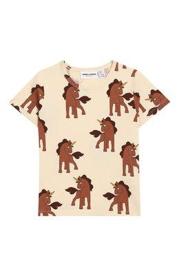 Хлопковая футболка Mini Rodini 20220120