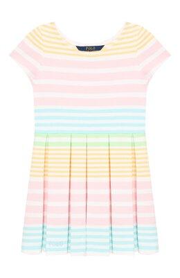 Хлопковое платье Polo Ralph Lauren 312784202