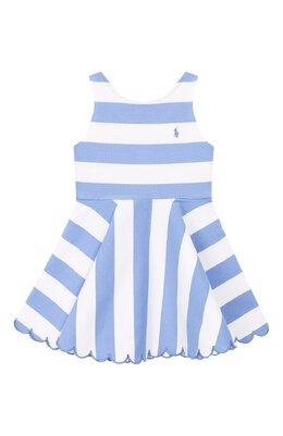 Хлопковое платье Polo Ralph Lauren 311784204