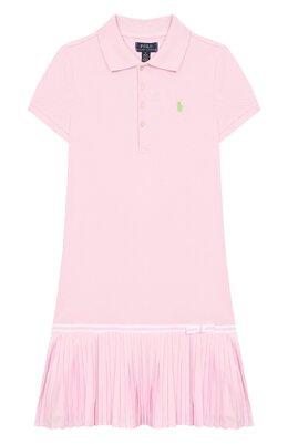 Хлопковое платье Polo Ralph Lauren 313783903