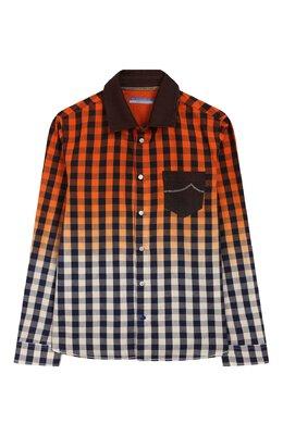 Хлопковая рубашка Jacob Cohen J8006 T-30004