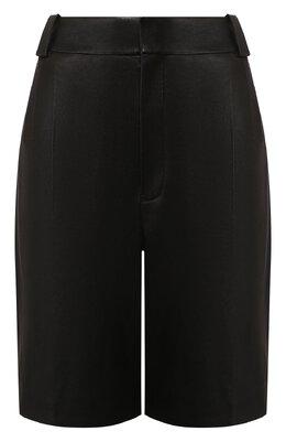 Кожаные шорты Saint Laurent 615750/YC2IF