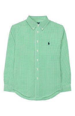 Хлопковая рубашка Ralph Lauren 323785622