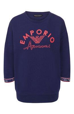 Хлопковый свитшот Emporio Armani 164320/0P287