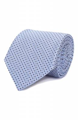 Шелковый галстук Canali 18/HJ02553