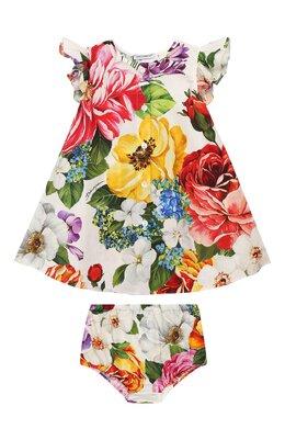Комплект из платья и шорт Dolce&Gabbana L22DE4/HS5F9