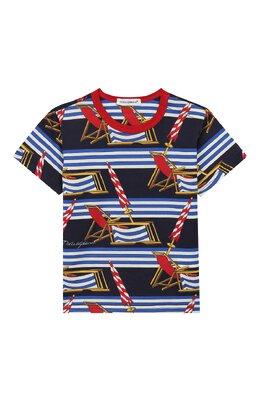Хлопковая футболка Dolce&Gabbana L1JT6S/HS7AZ