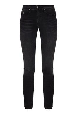 Черные джинсы с декоративным разрезом Calvin Klein 596189531