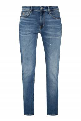 Синие джинсы прямого кроя Calvin Klein 596189292