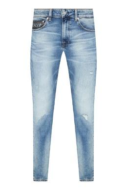Голубые джинсы с логотипом Calvin Klein 596189295