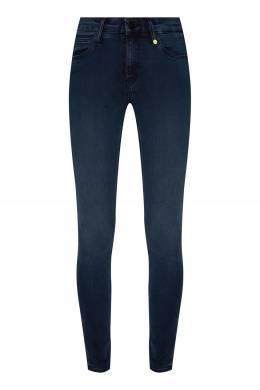 Темно-синие джинсы с потертостями Calvin Klein 596189538