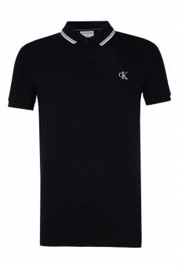 Черное поло Calvin Klein 596189503