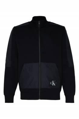 Черная толстовка с логотипом Calvin Klein 596189502