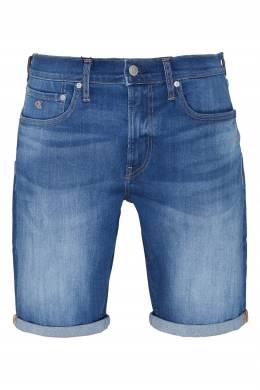 Синие джинсовые шорты Calvin Klein 596189274