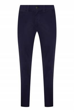 Темно-синие брюки Calvin Klein 596189286