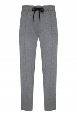 Серые трикотажные брюки Calvin Klein 596189285
