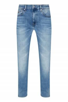Голубые джинсы из плотного денима Calvin Klein 596189287
