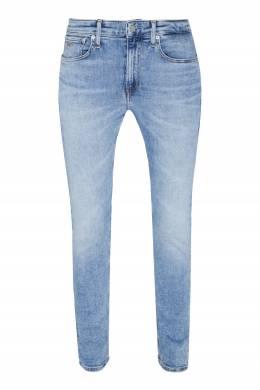 Голубые зауженные джинсы Calvin Klein 596189275