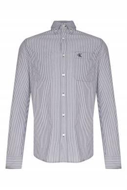 Рубашка в синюю полоску Calvin Klein 596189458