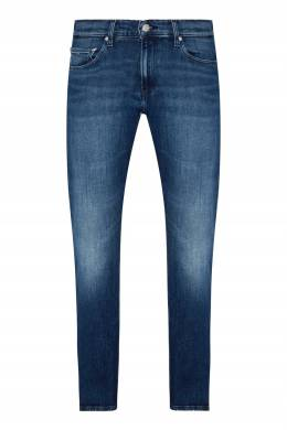 Синие прямые джинсы Calvin Klein 596189279