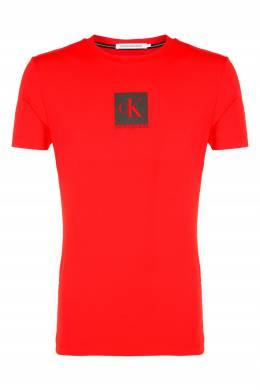 Красная футболка с логотипом Calvin Klein 596189395