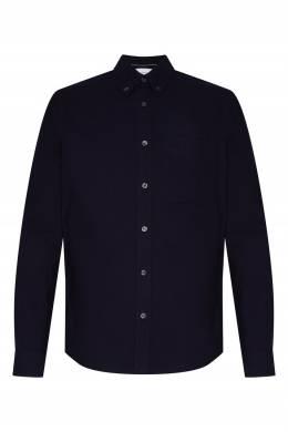 Темно-синяя рубашка Calvin Klein 596189413