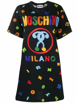 Moschino футболка с логотипом A04450540