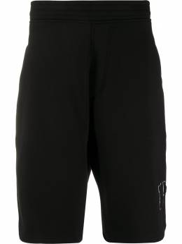 Neil Barrett спортивные шорты с нашивкой-логотипом BJP202BN515