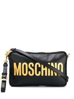 Moschino сумка через плечо с логотипом A74178001