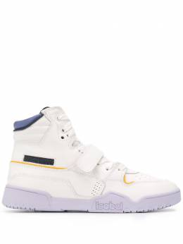 Isabel Marant panelled high-top retro trainers BK026620P038S
