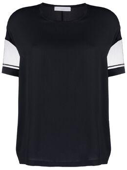 Fabiana Filippi декорированная блузка с круглым вырезом TPD270W7140000A897