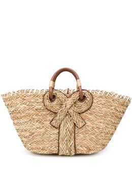 Anya Hindmarch сумка-корзина с бантом 147231